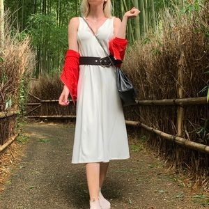 WHITE DRESS NEW 2019 summer